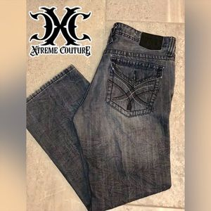 🔥Xtreme Couture🔥 Men's distress jeans